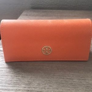 Tory Burch sunglass case. Hardly used.